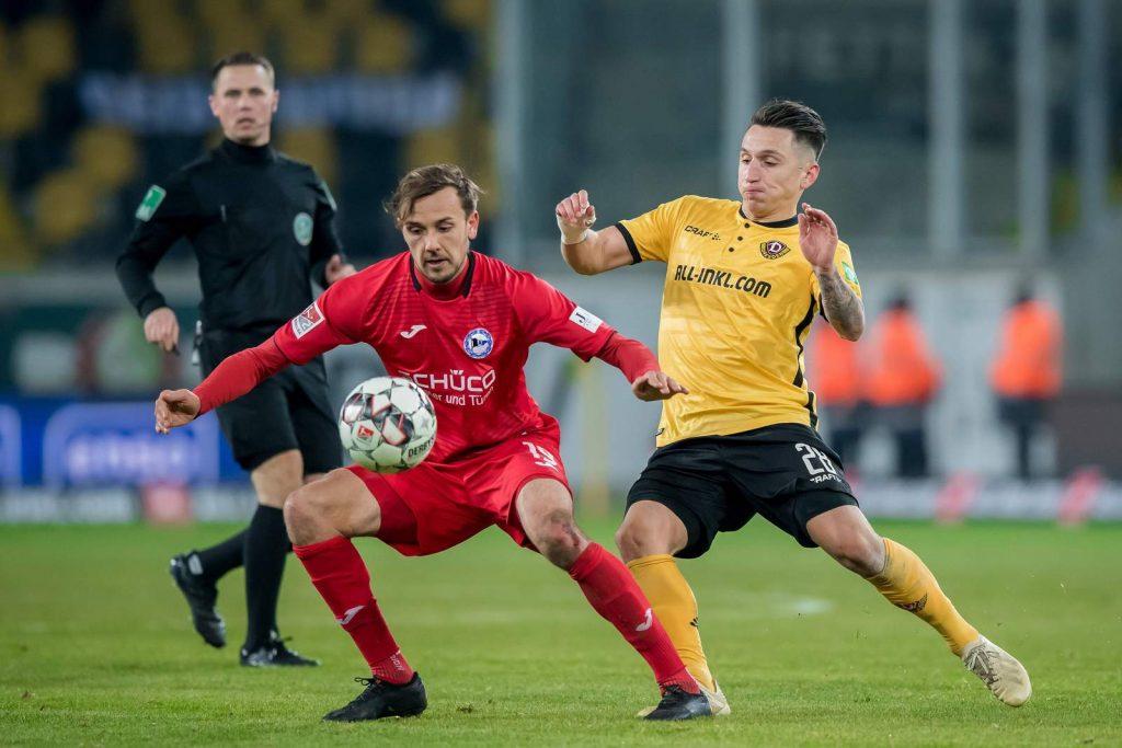Dynamo Gegen Bielefeld