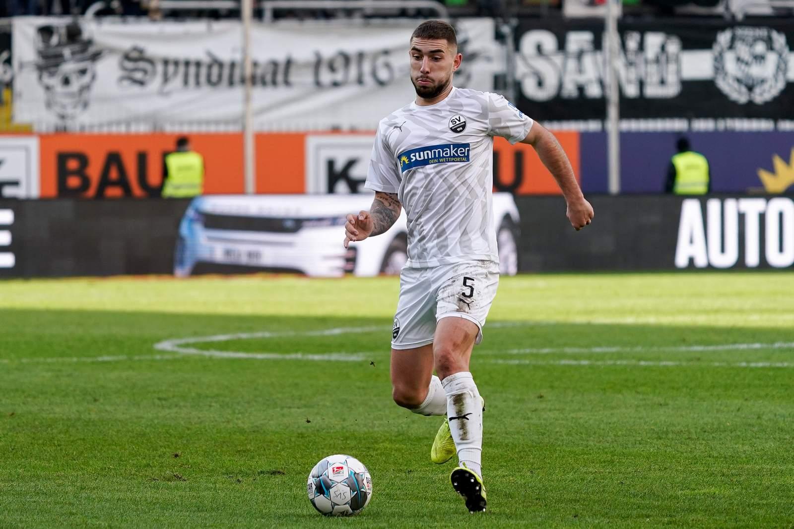Marlon Frey vom SV Sandhausen