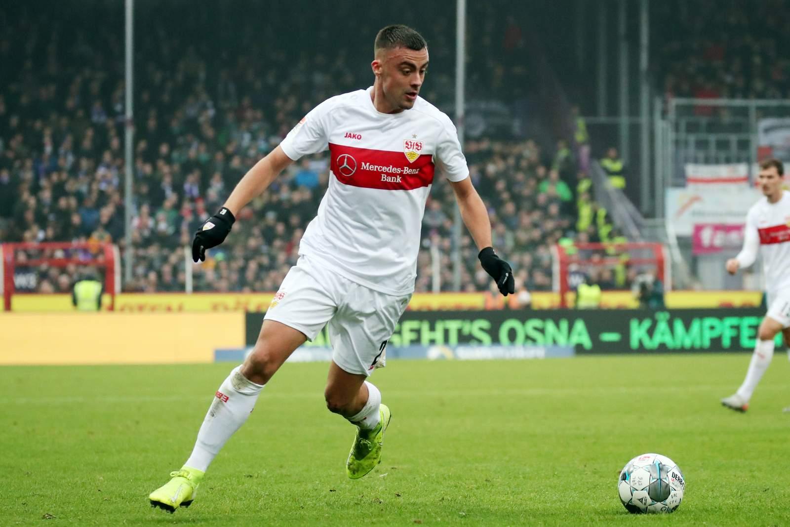 Philipp Förster vom VfB Stuttgart