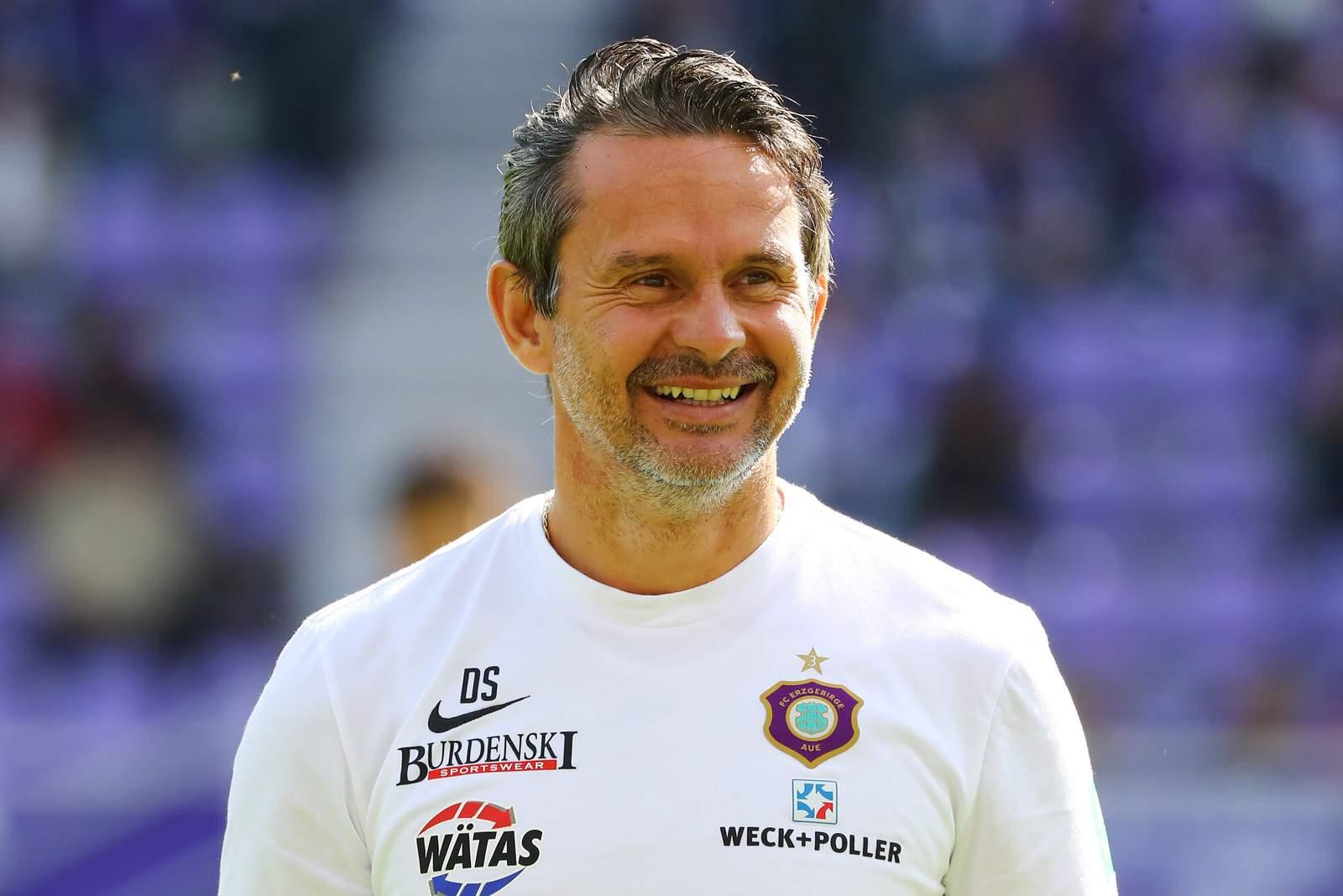Dirk Schuster beim FC Erzgebirge Aue