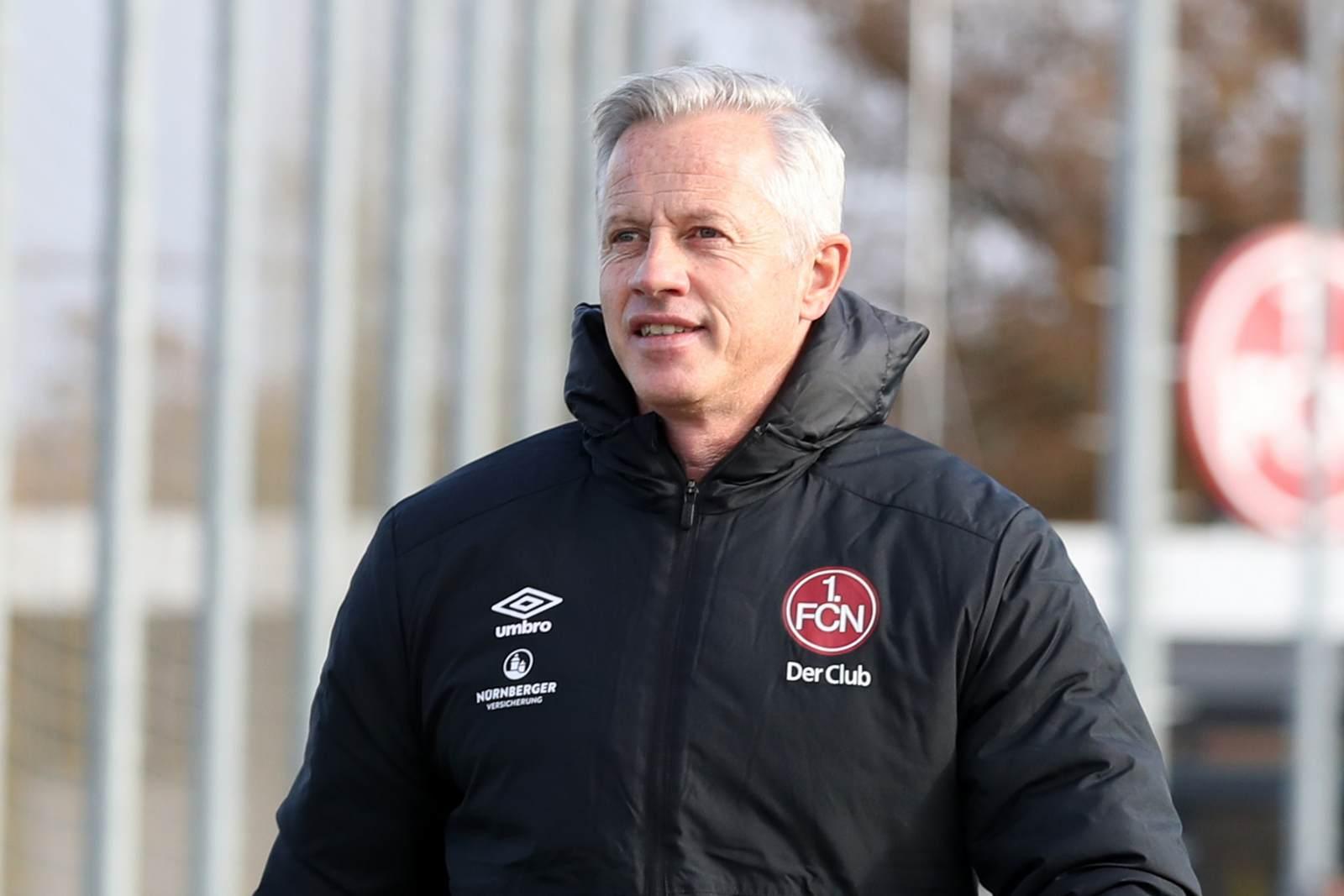 FCN-Coach Jens Keller.