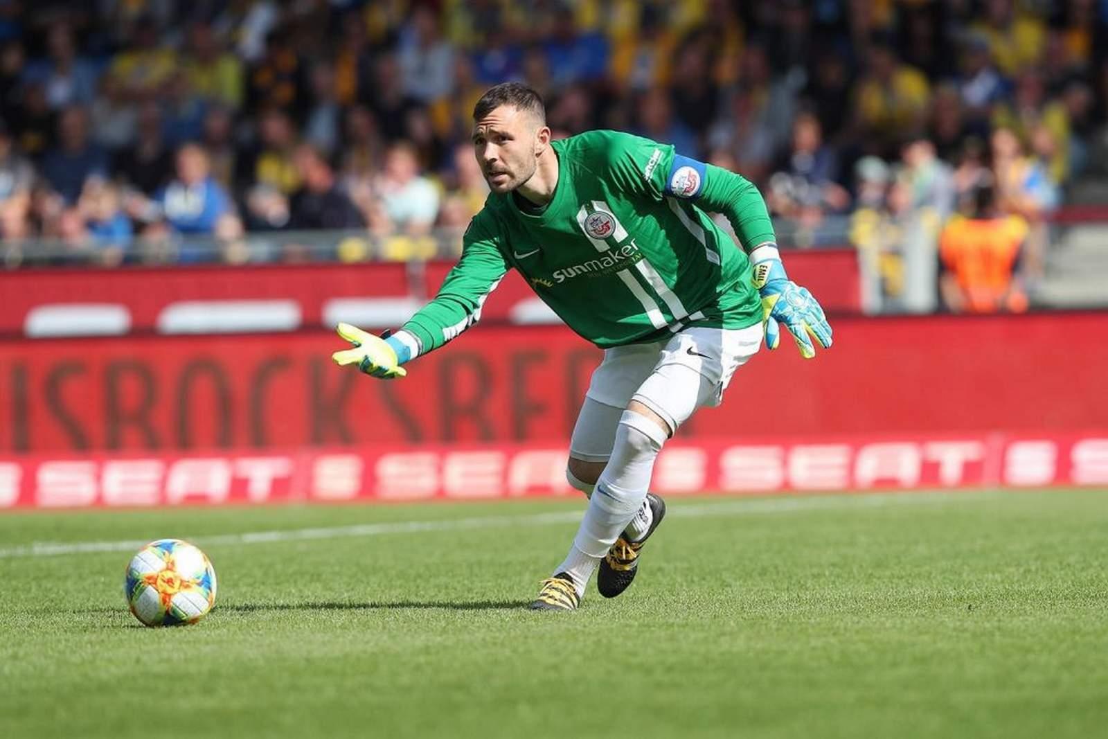 Markus Kolke im Hansa-Dress.