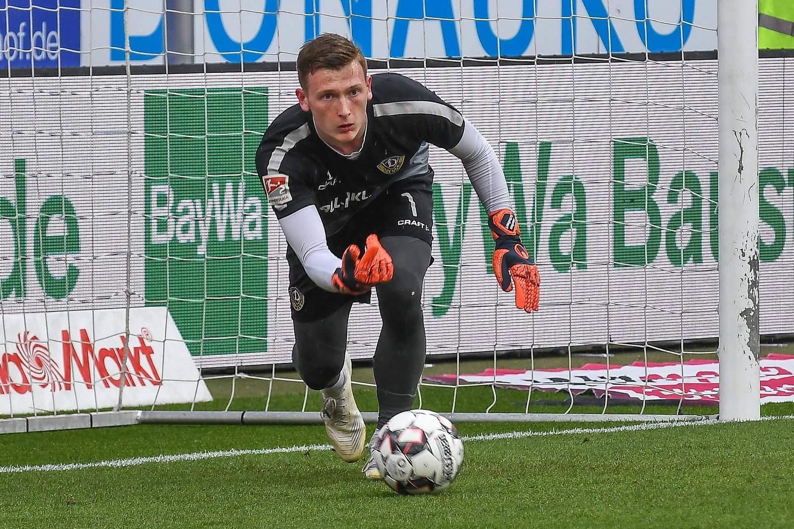 Markus Schubert gegen Ingolstadt.