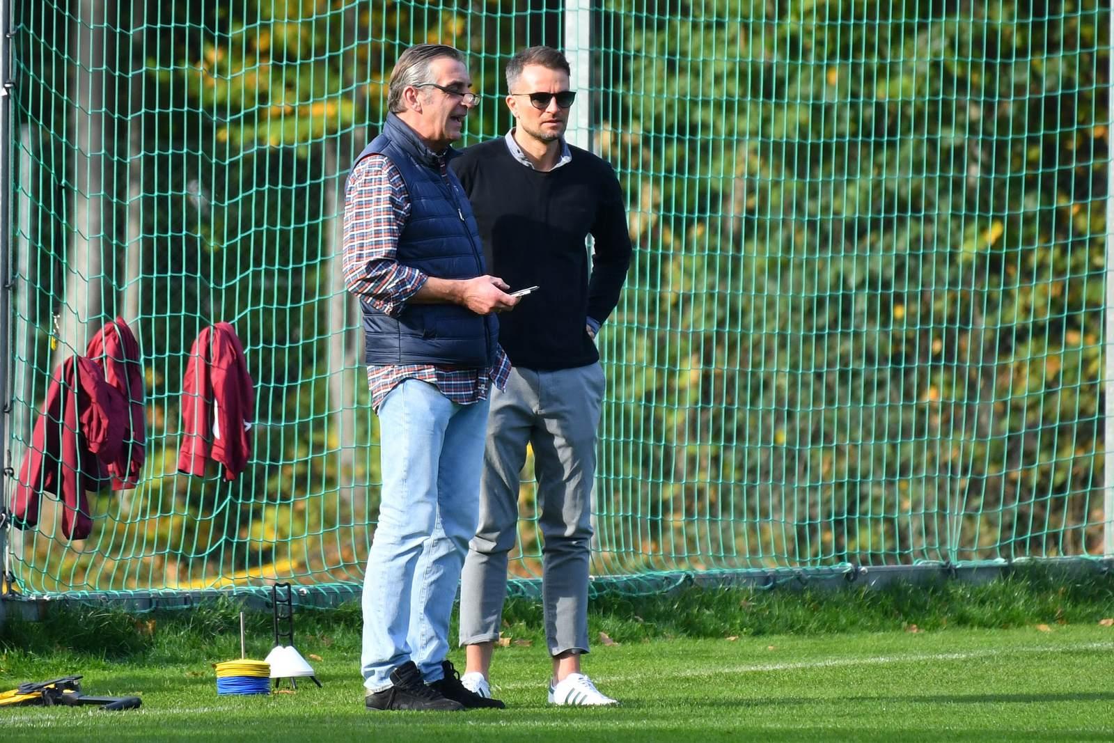 Ralf Minge mit Kristian Walter
