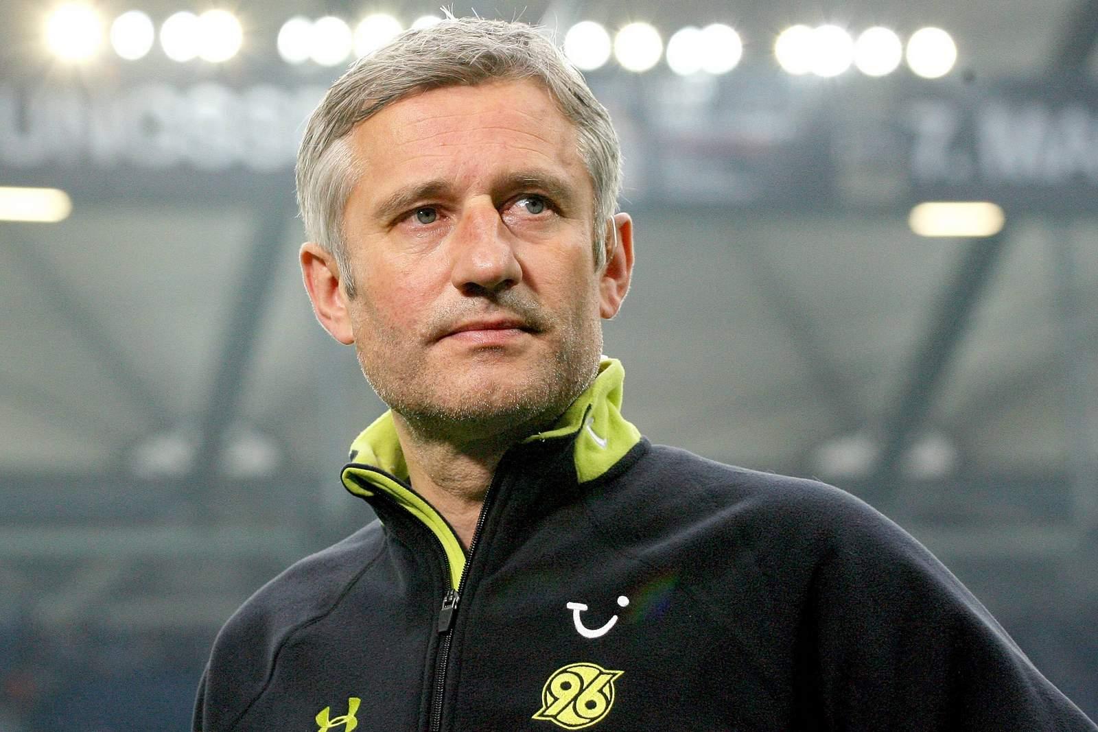Andreas Bergmann bei Hannover 96