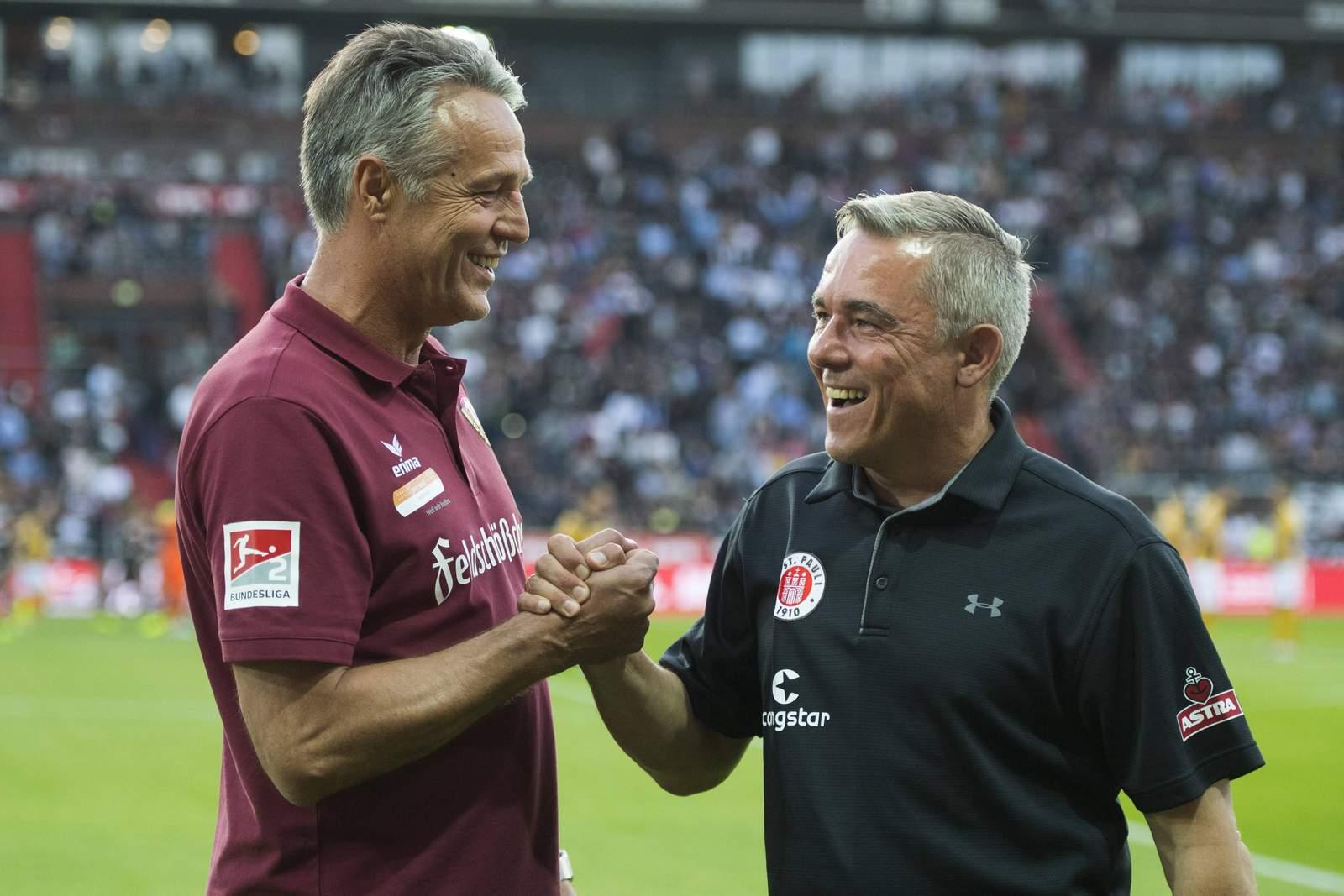 Uwe Neuhaus und Olaf Janßen
