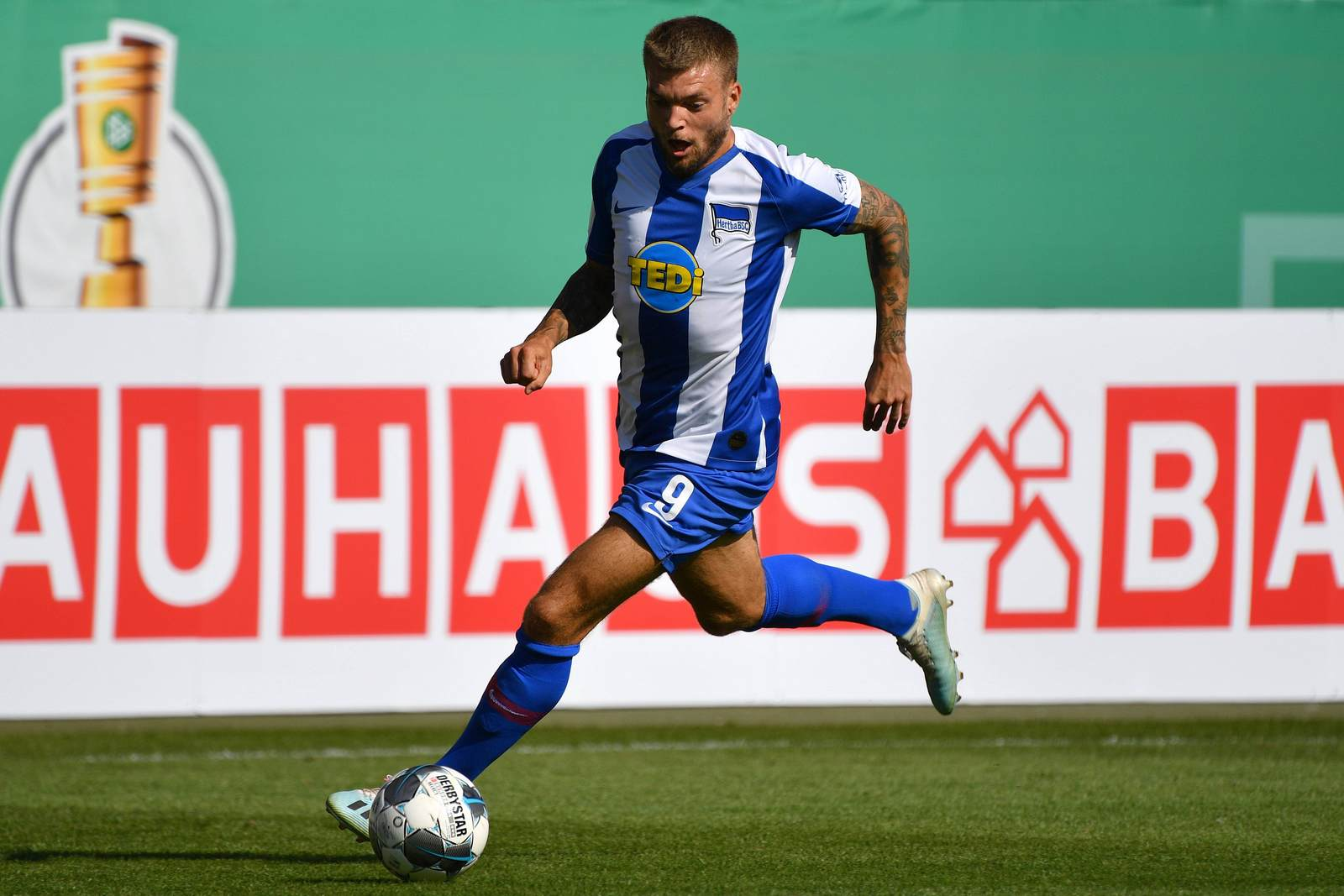 Alexander Esswein im Hertha-Dress.