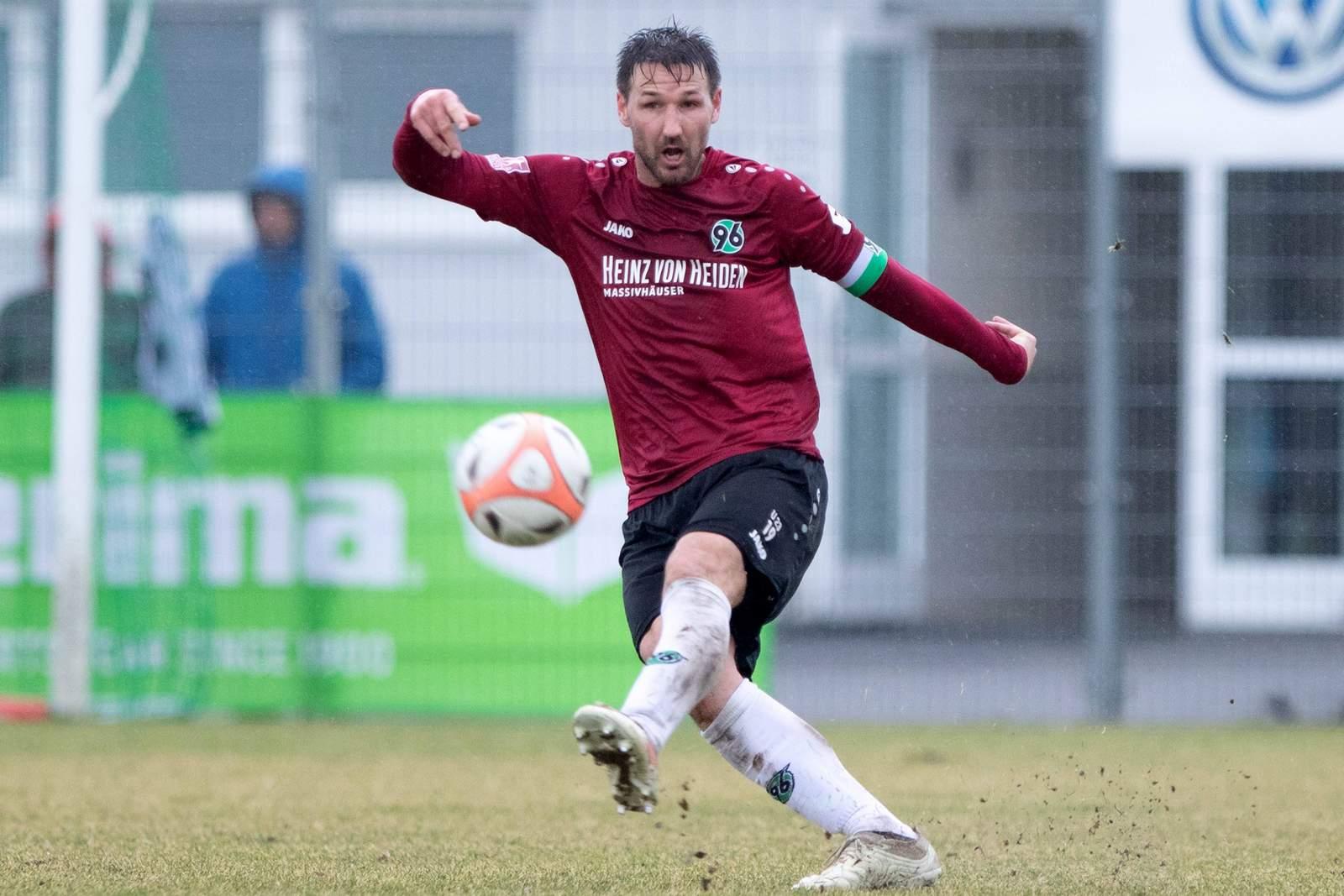 Christian Schulz im Einsatz für Hannovers zweite Mannschaft.