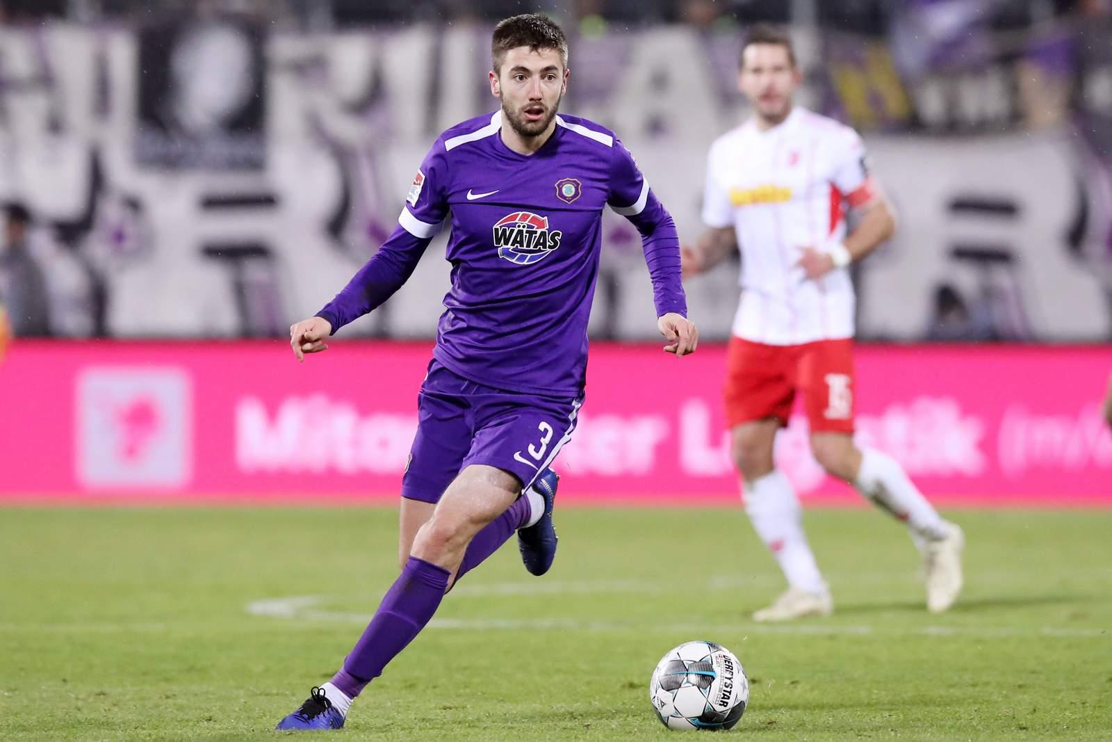 Marko Mihojevic von Erzgebirge Aue