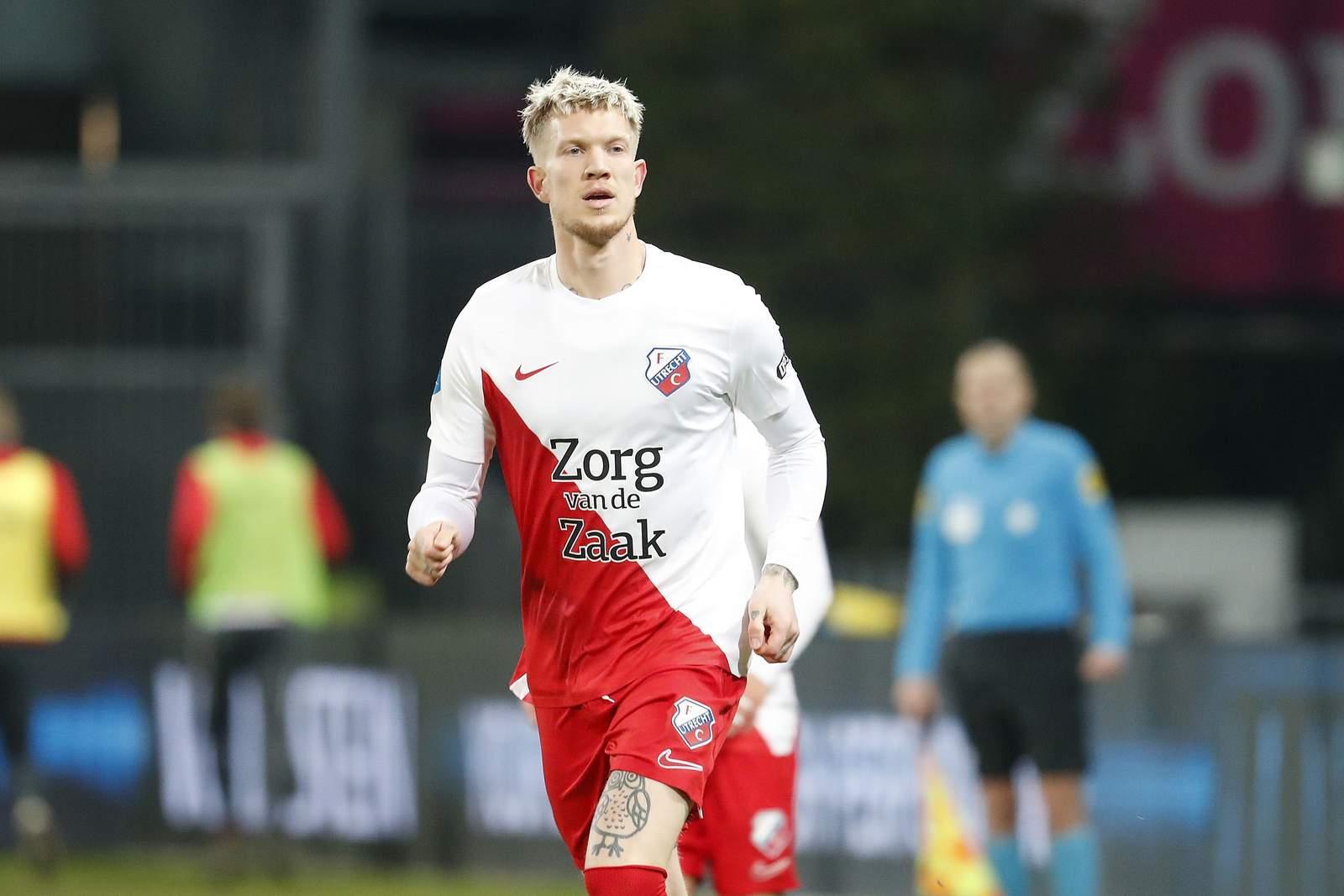 Simon Makienok beim FC Utrecht