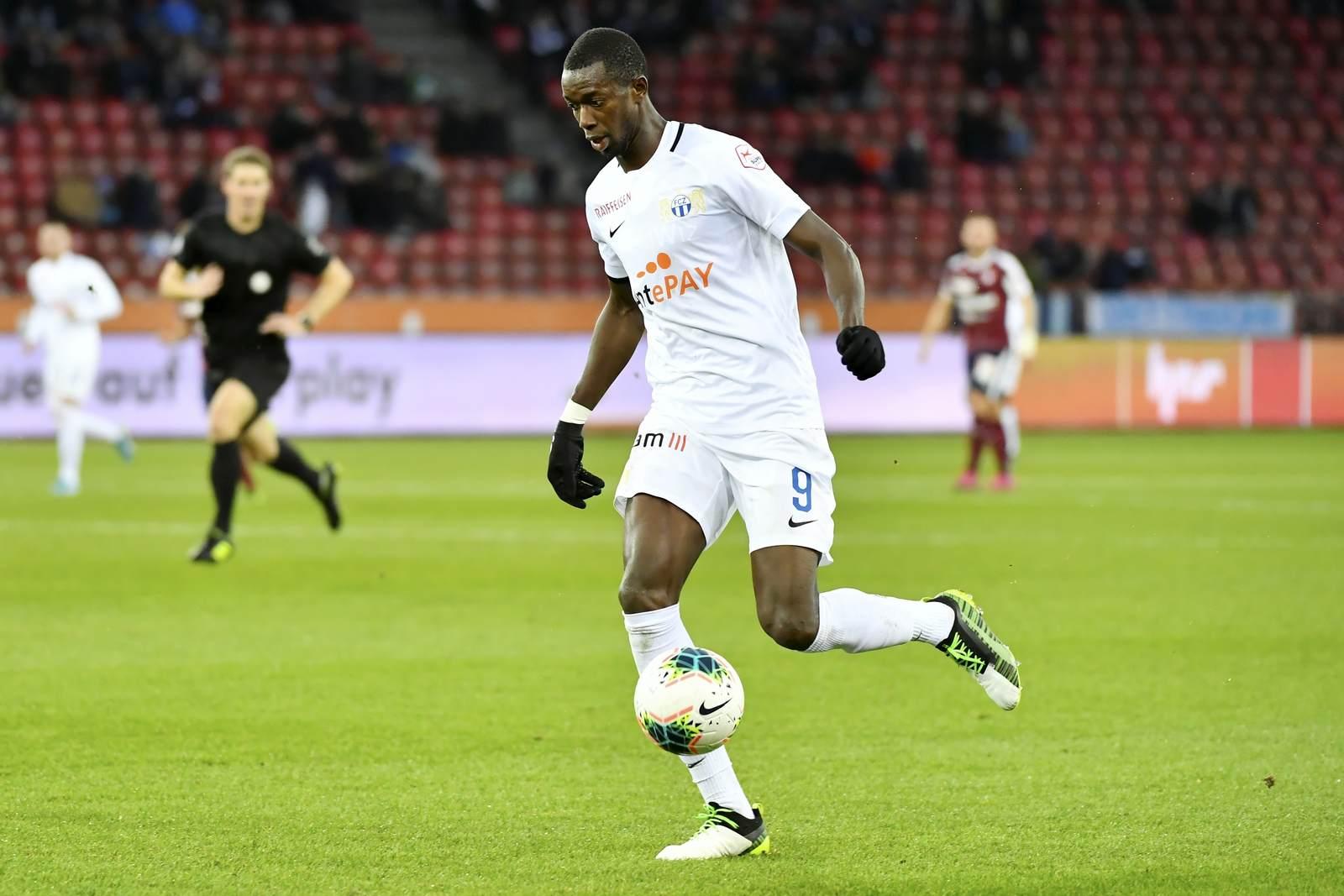 Assan Ceesay am Ball für den FC Zürich
