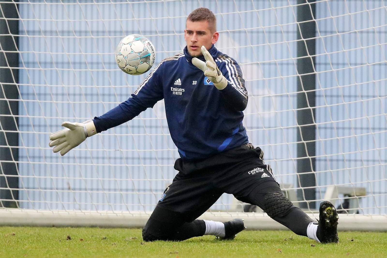 Julian Pollersbeck im Training.