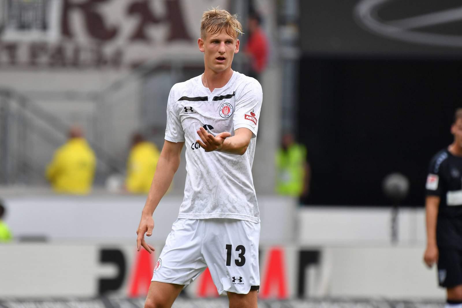Niklas Hoffmann vom FC St.Pauli