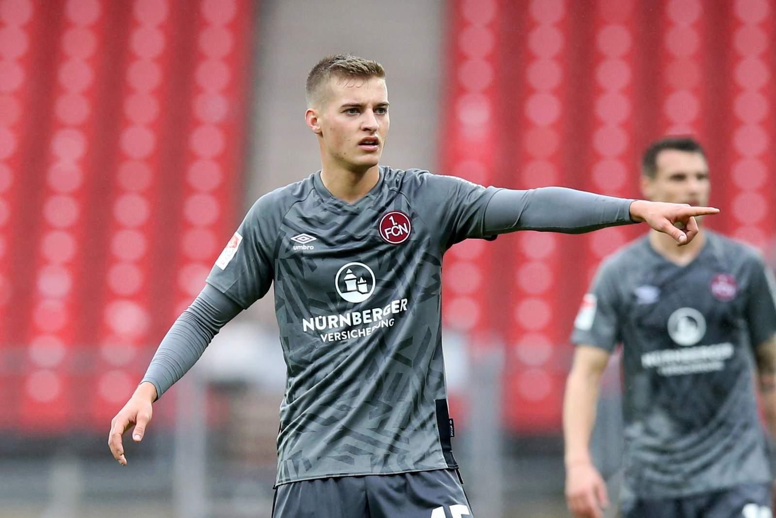 Fabian Nürnberger vom 1. FC Nürnberg