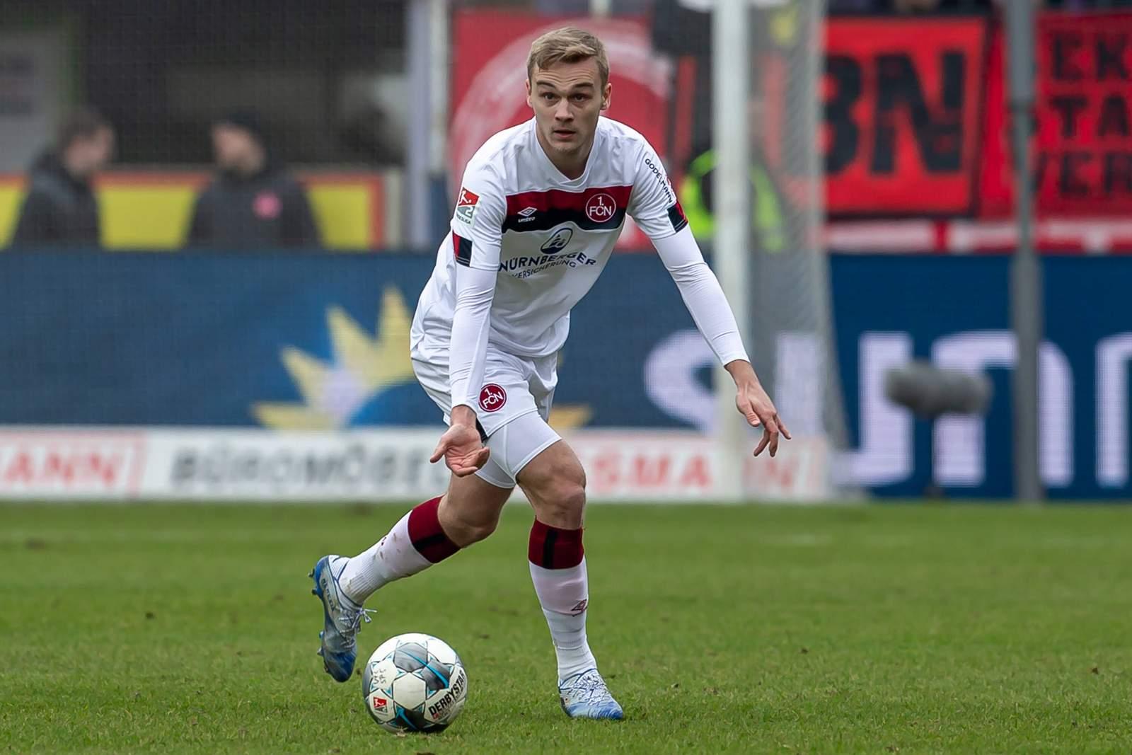 Tim handwerker vom 1. FC Nürnberg