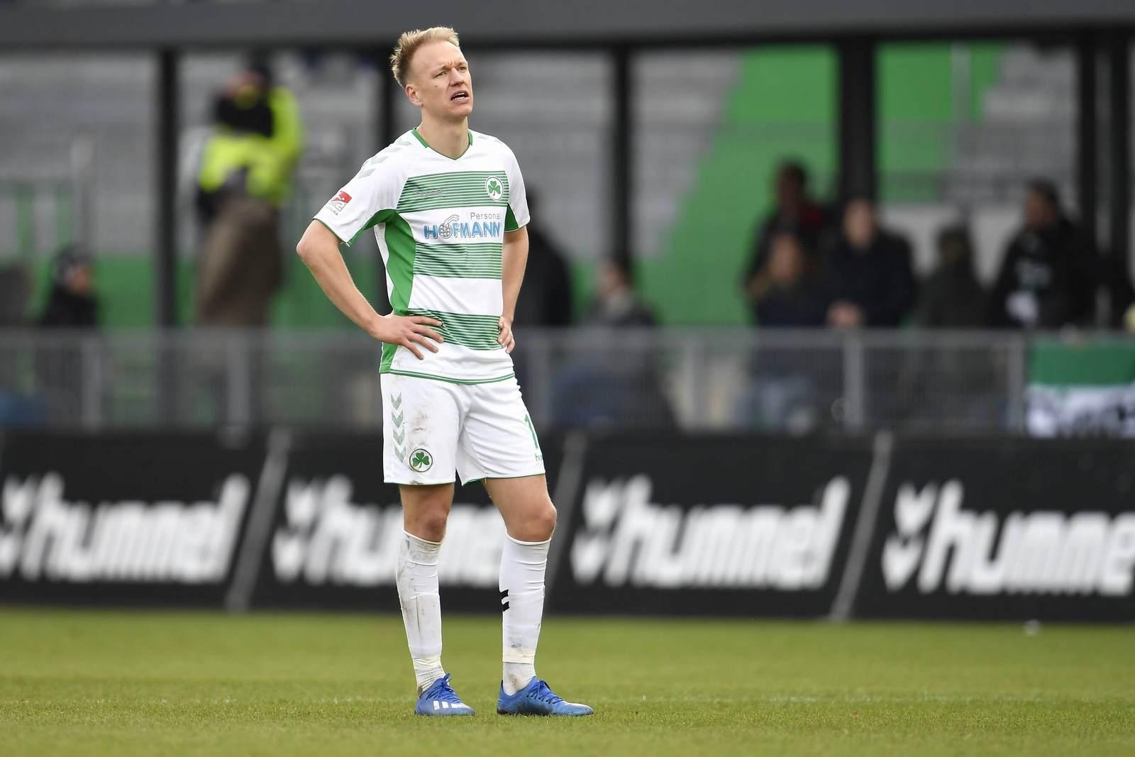 Havard Nielsen bei der SpVgg Greuther Fürth
