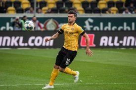 Dynamo Dresden: Terrazzino erleidet Muskelfaserriss