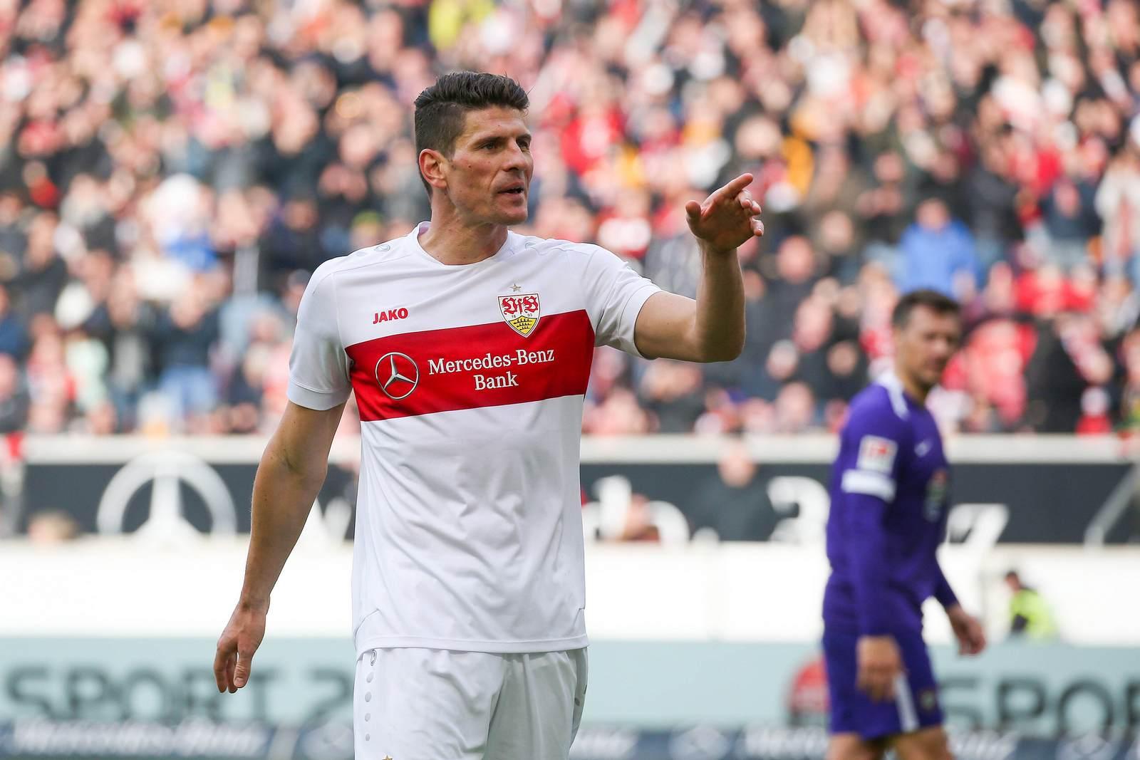Mario Gomez beim VfB Stuttgart
