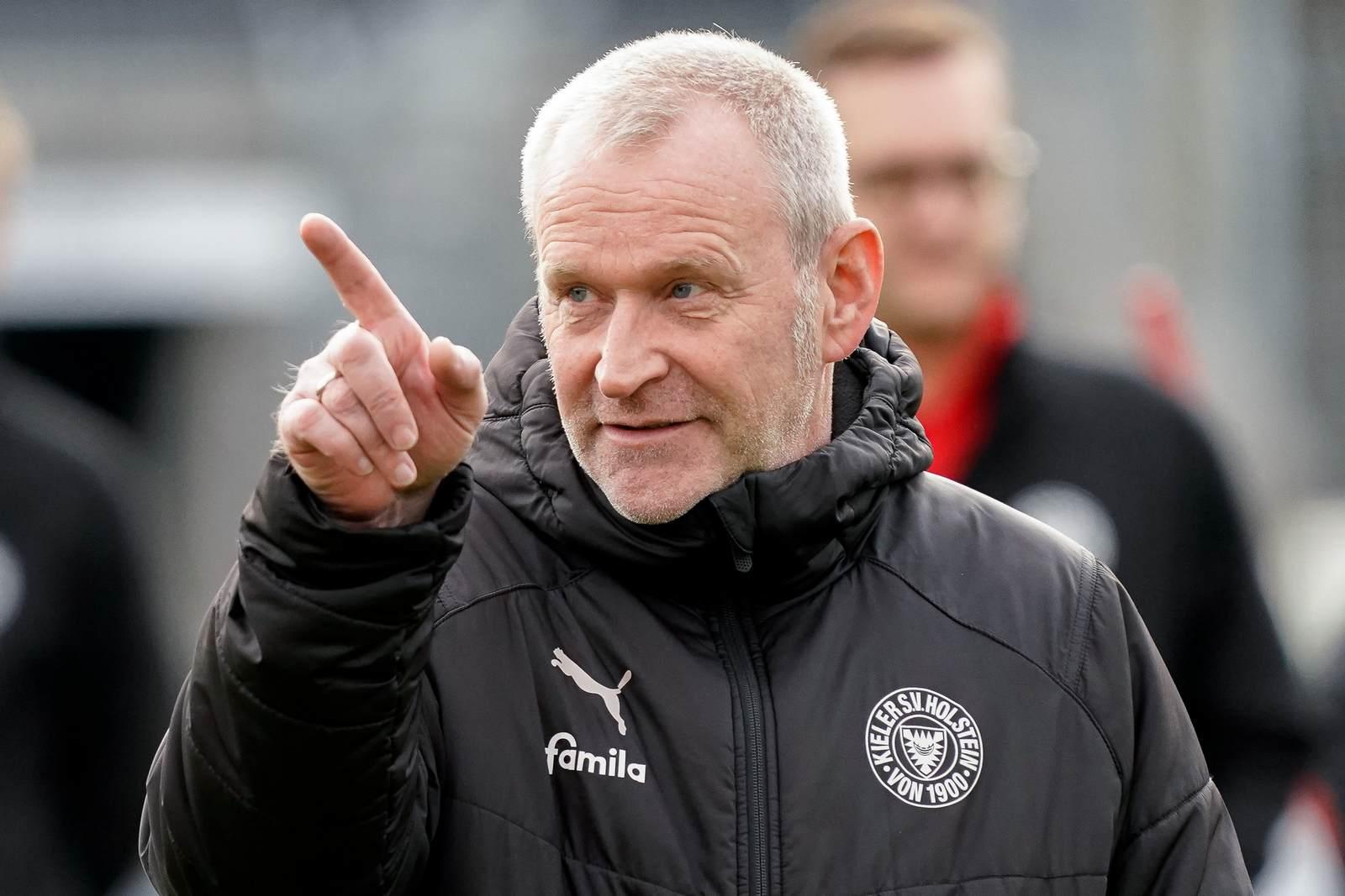 Uwe Stöver bei Holstein Kiel