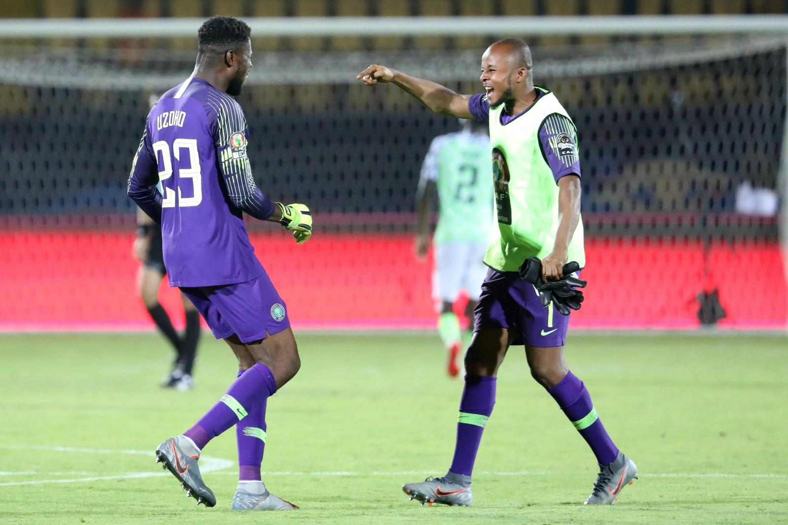 Ikechukwu Ezenwa bei der Nationalmannschaft Nigerias
