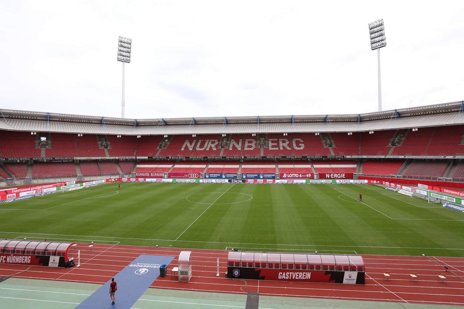Max Morlock Stadion in Nürnberg