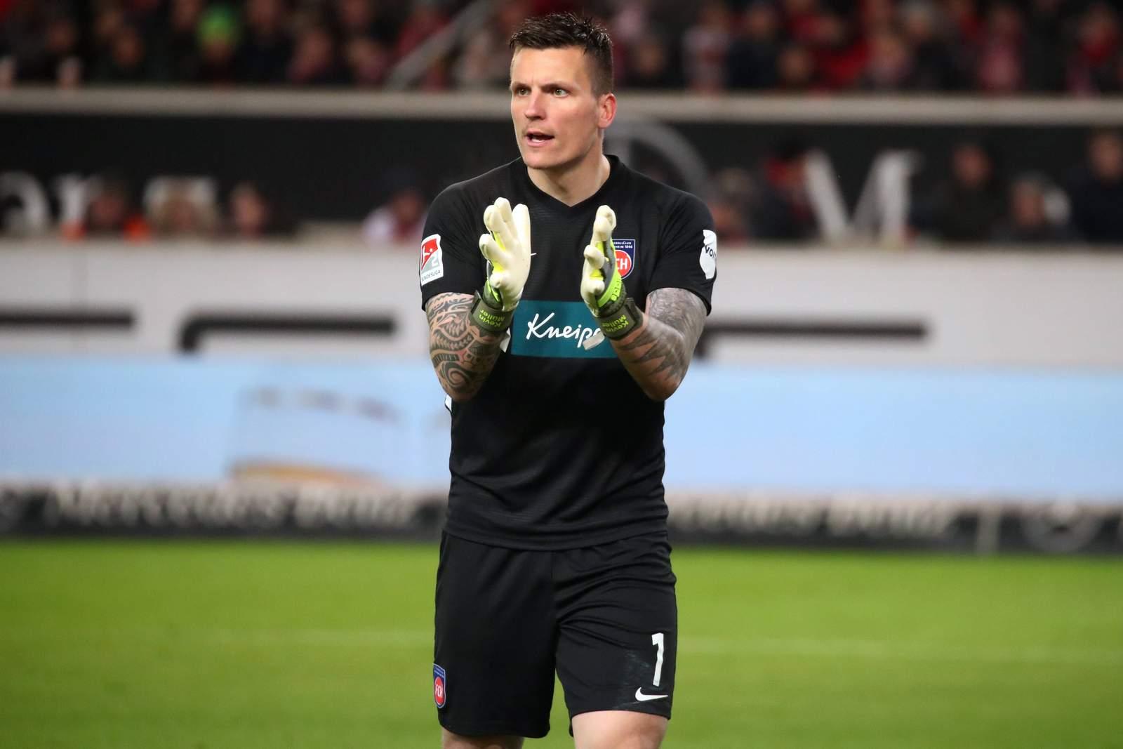 Kevin Müller beim 1. FC Heidenheim