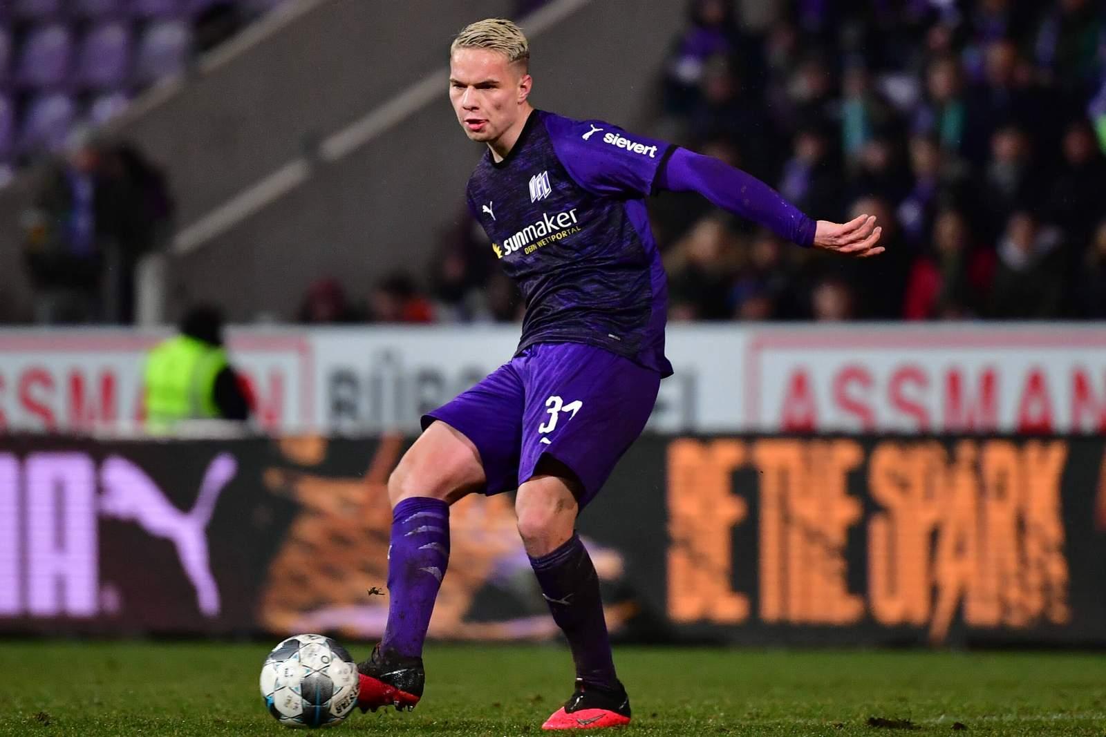 Niklas Schmidt vom VfL Osnabrück