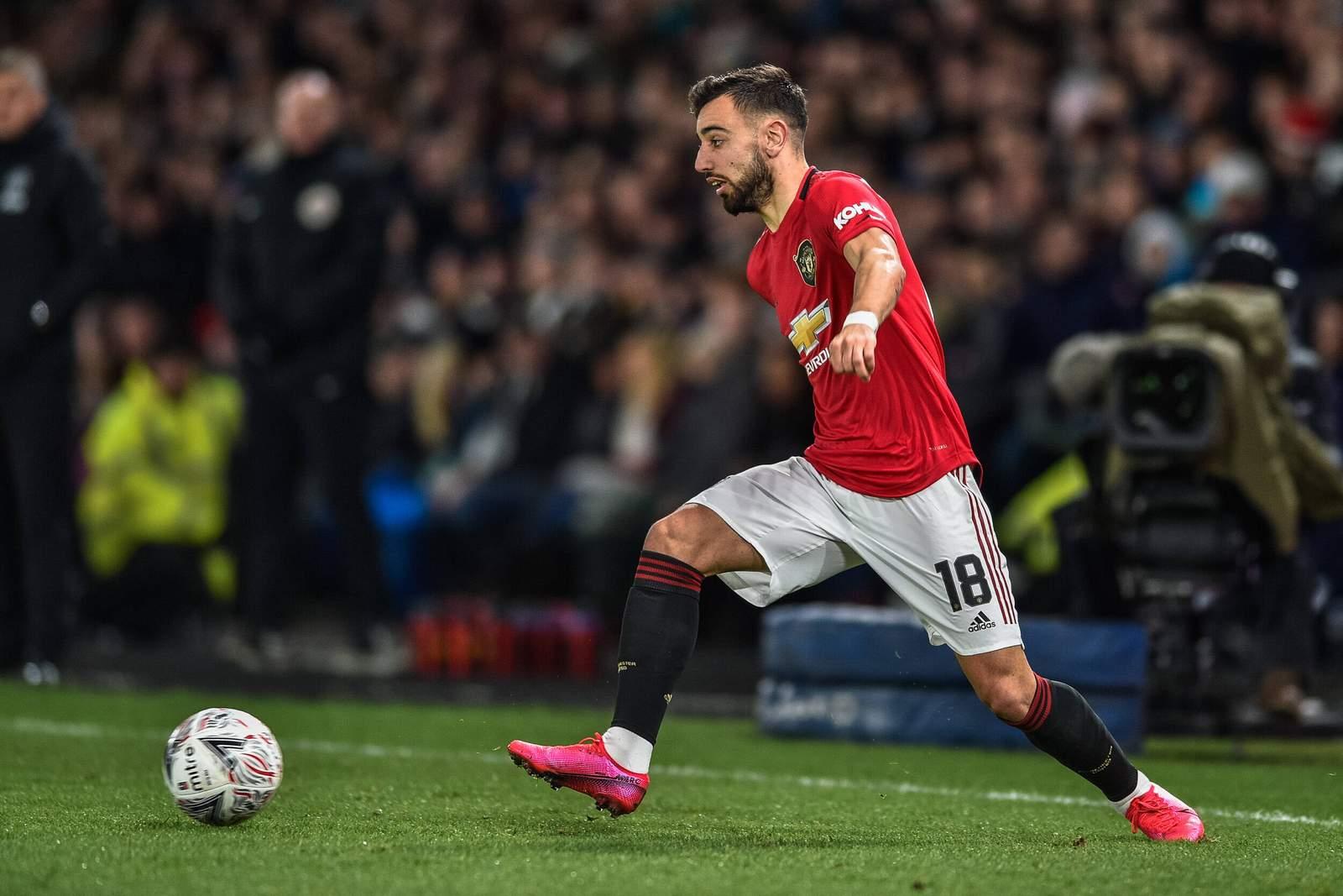 Bruno Fernandes von Manchester United