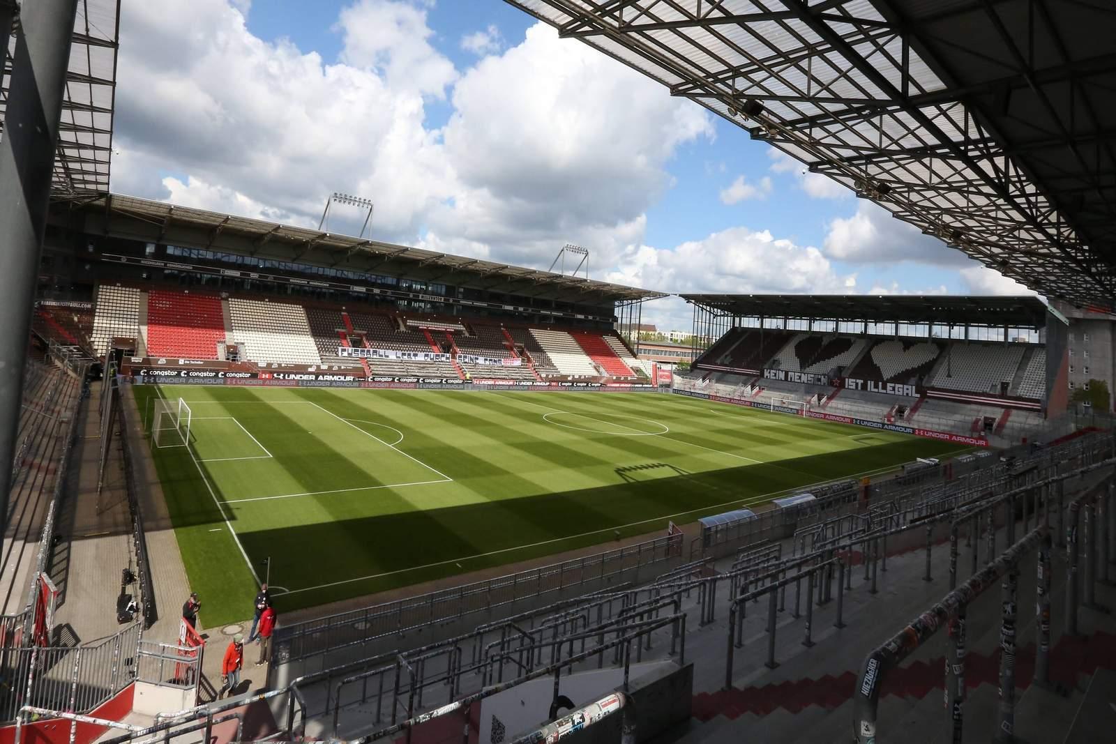 Stadion am Millerntor des FC St. Pauli