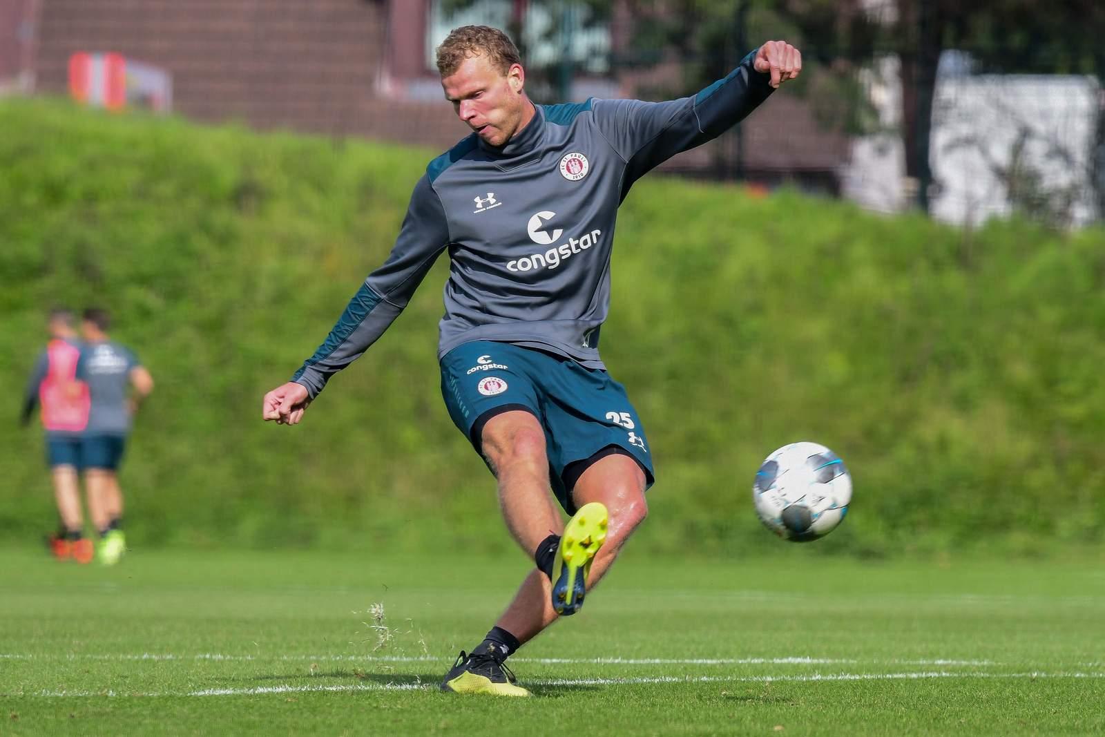 Henk Veerman beim FC St. pauli