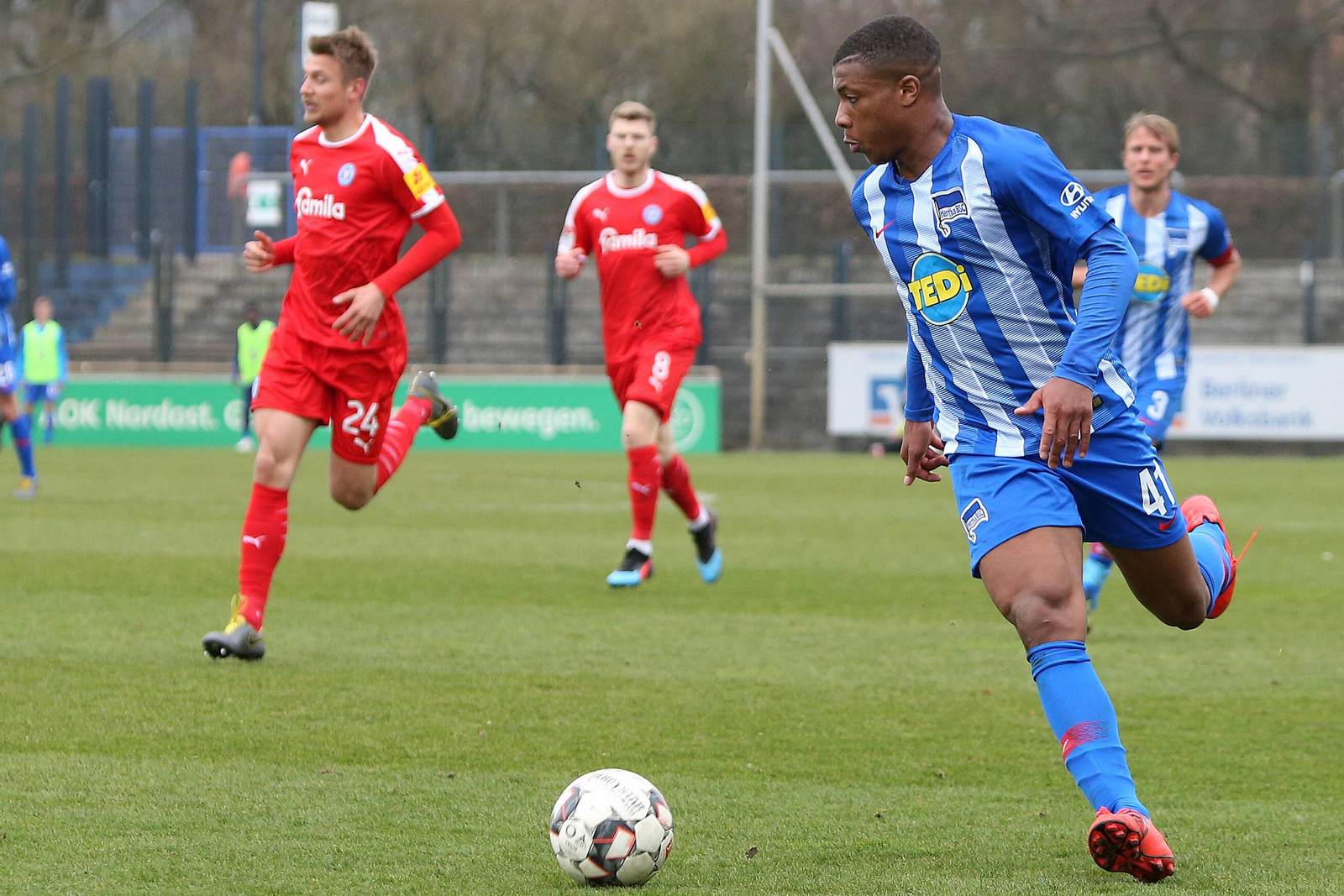 Jessic Ngankam bei Hertha II