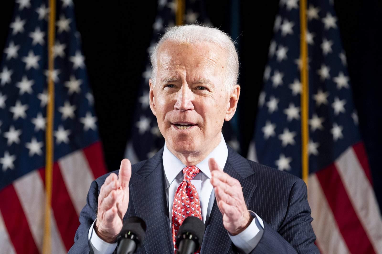 Joe Biden im Wahlkampf 2020.