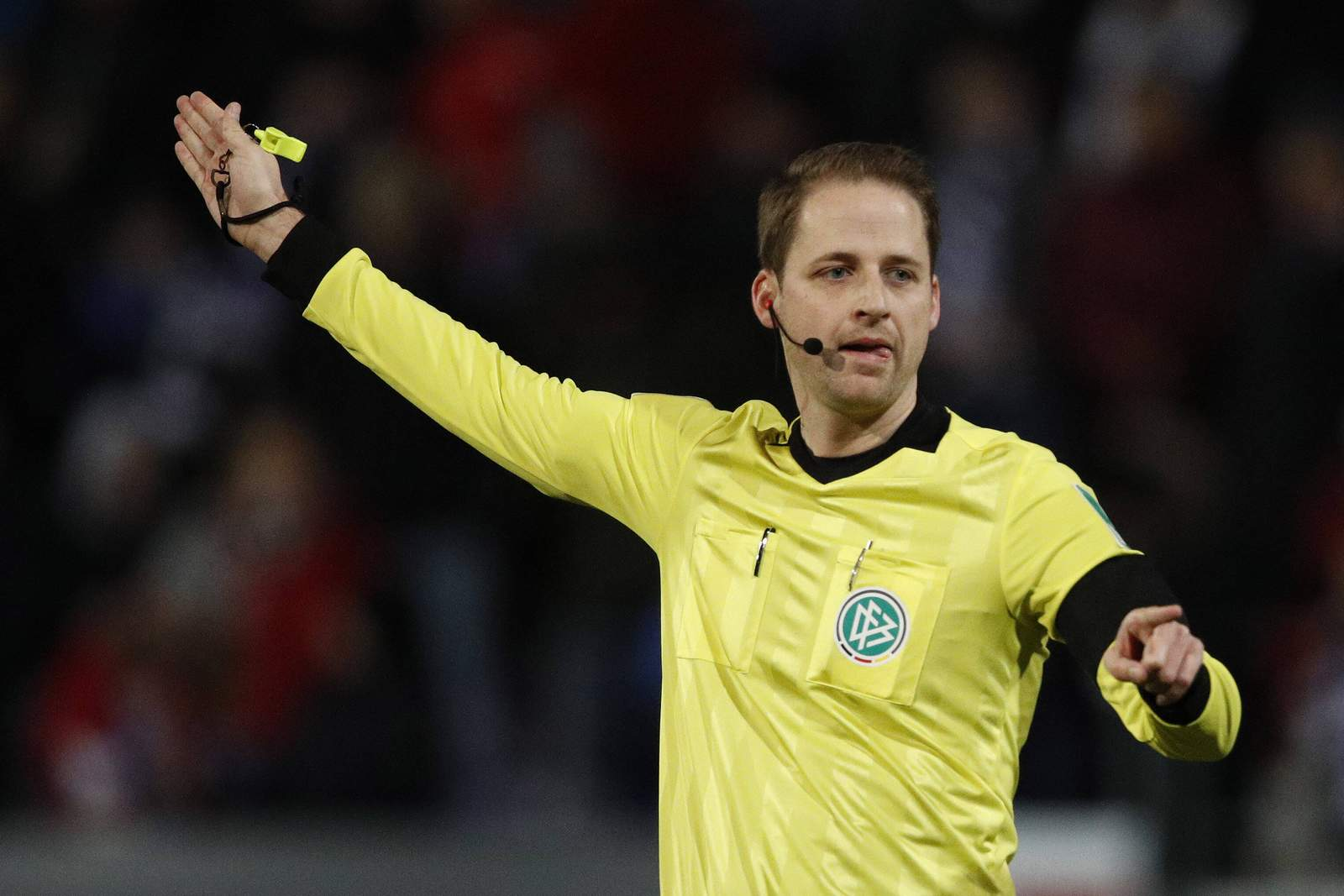 Dr Martin Thomsen als Schiedsrichter