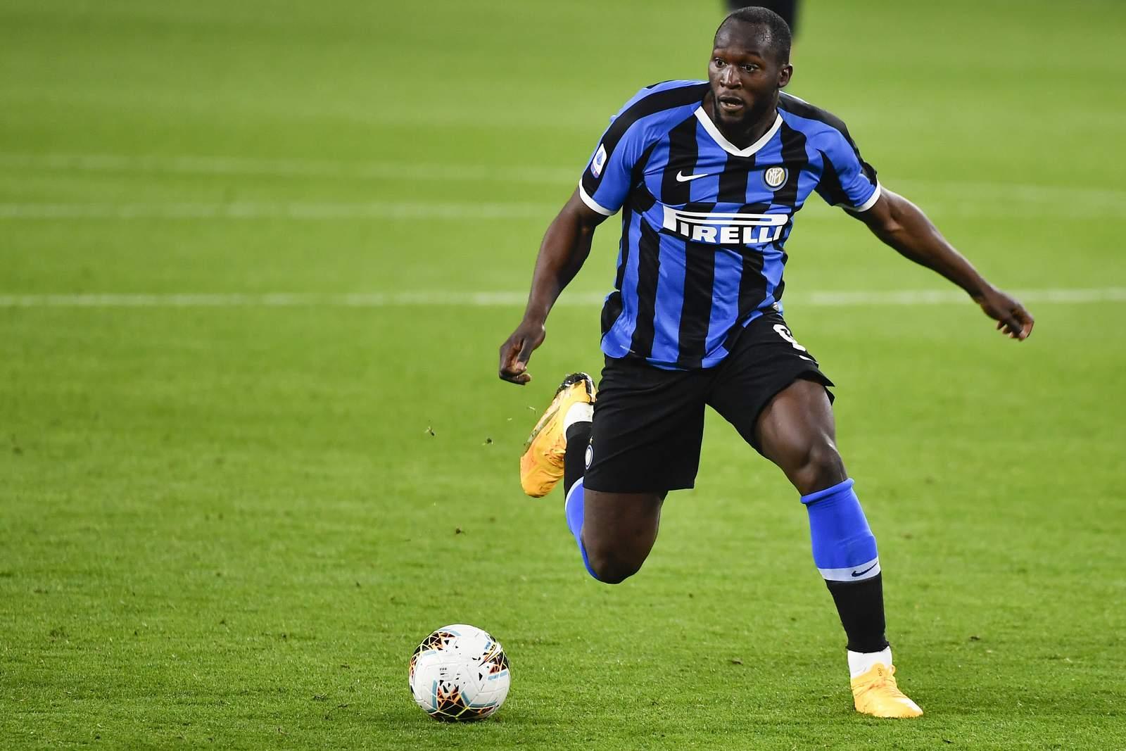 Romelu Lukaku von Inter Mailand