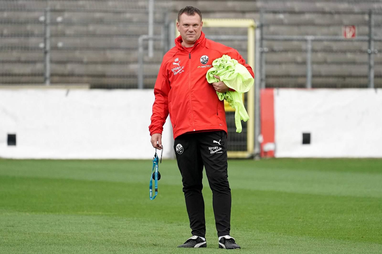 Uwe Koschinat vom SV Sandhausen