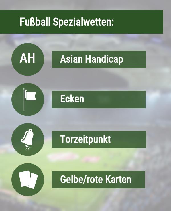 Fußball Spezialwetten