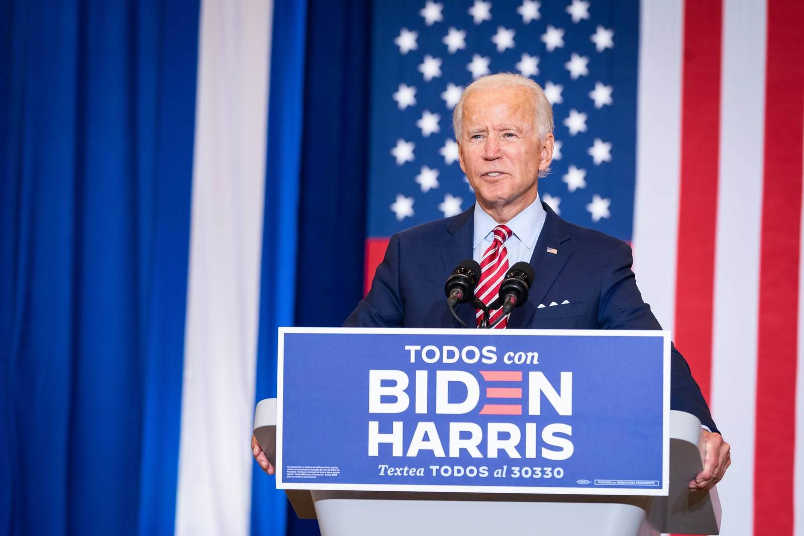 Joe Biden bei einer Wahlkampfveranstaltung. Jetzt auf den nächsten US Präsidenten wetten