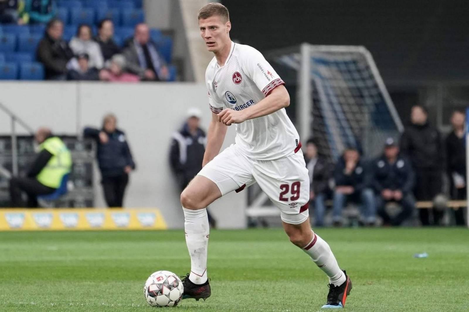 Patrick Erras vom 1. FC Nürnberg