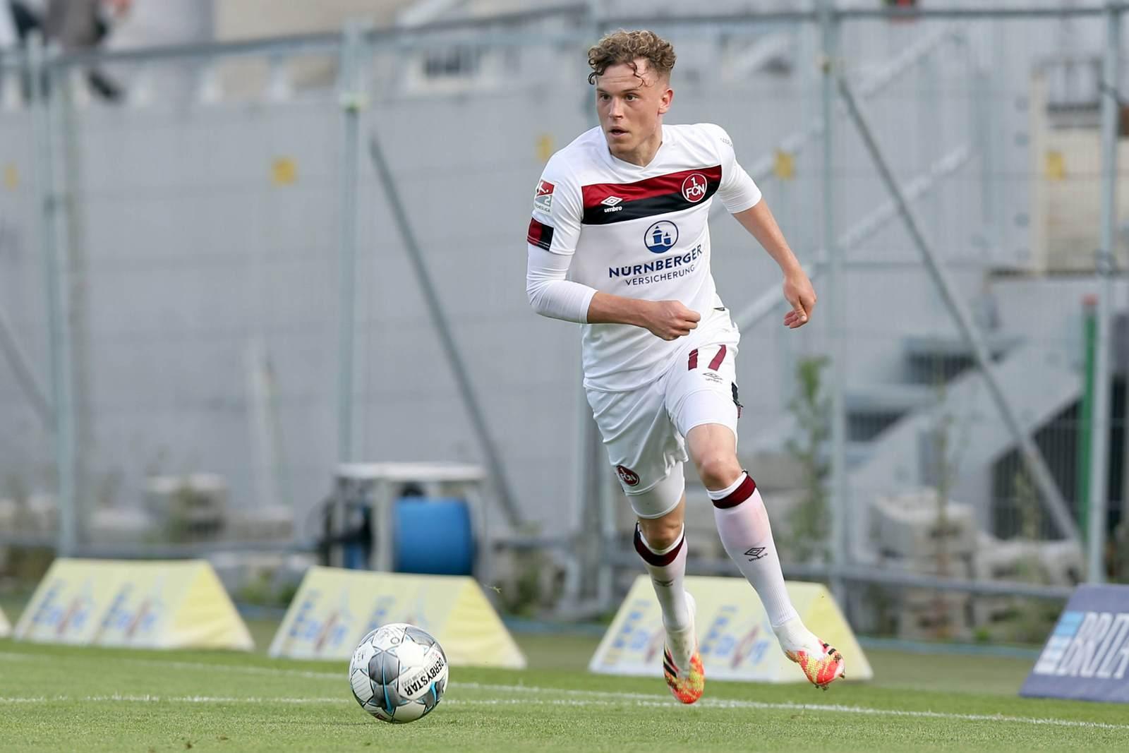 Robin Hack vom 1.FC Nürnberg