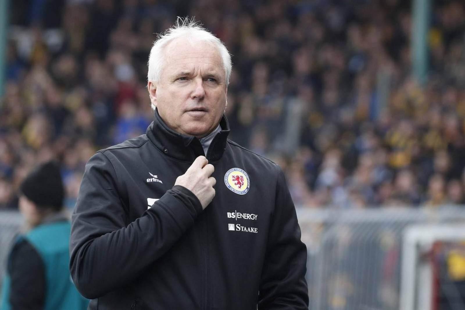 Peter Vollmann bei Eintracht Braunschweig