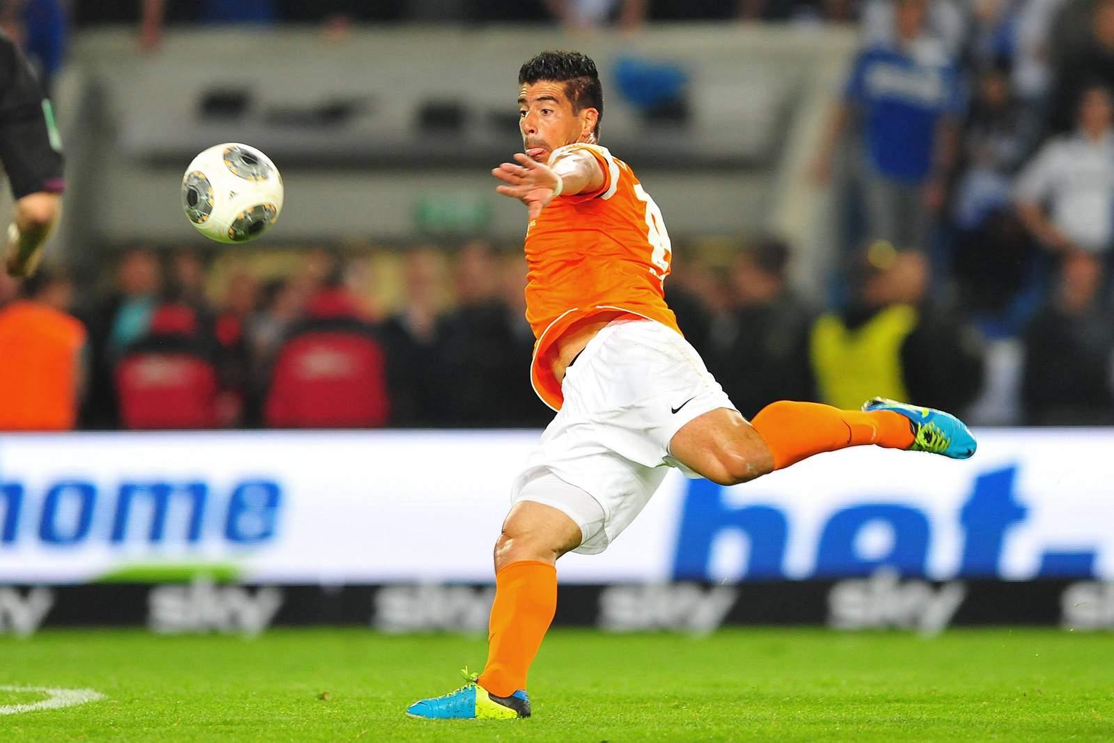 Elton da Costa im Relegations-Rückspiel gegen Bielefeld.