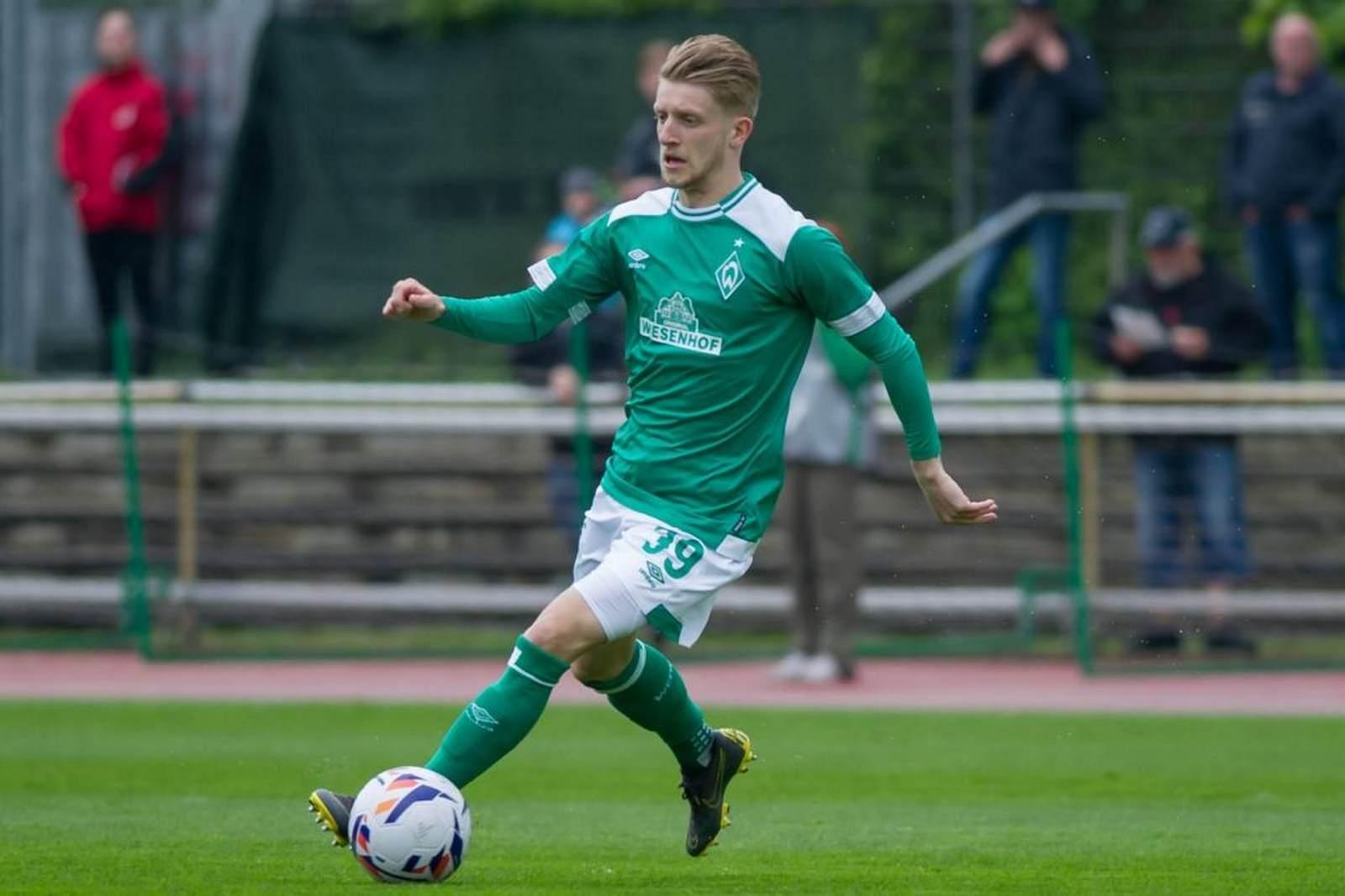 Jan-Niklas Beste beim SV Werder
