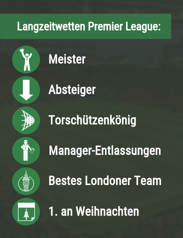 Langzeitwetten Premier League