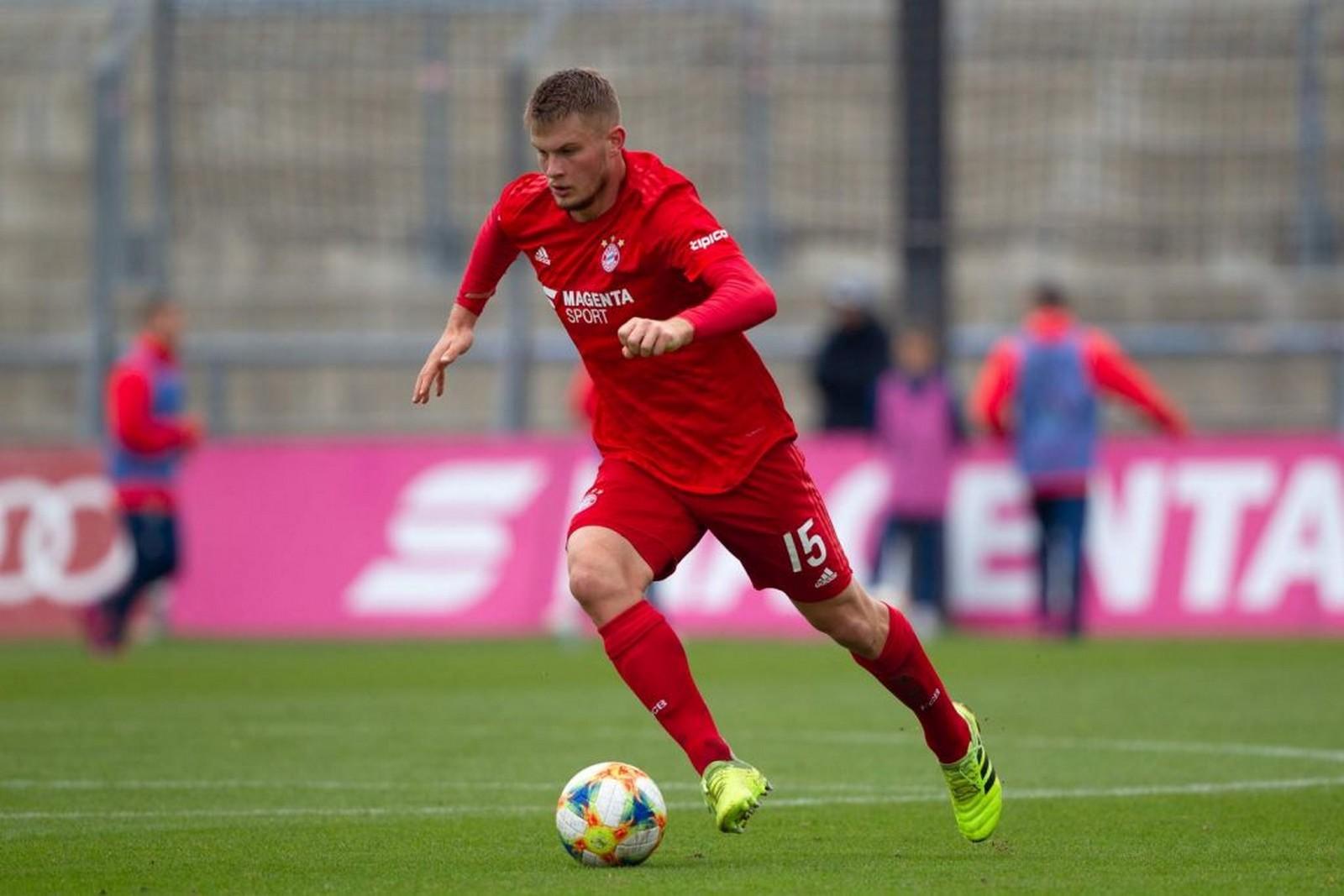 Lukas Mai vom FC Bayern