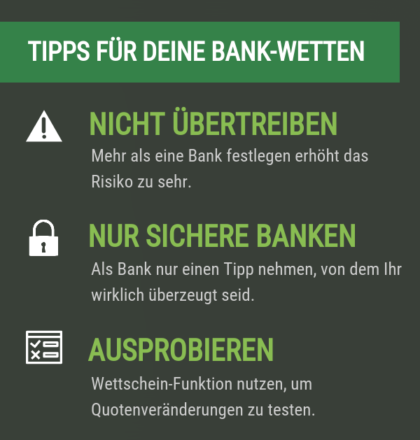Tipps Bankwette