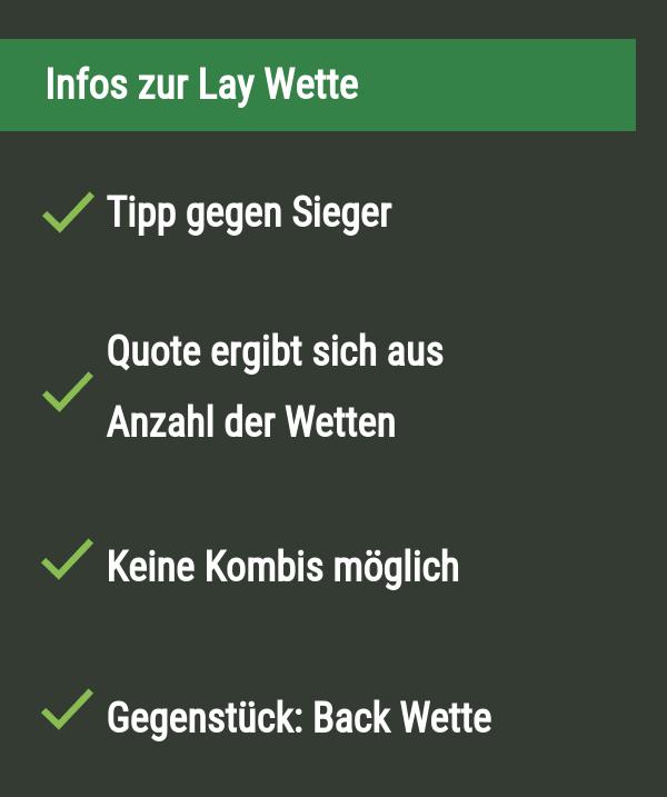 Infos zur Lay Wette