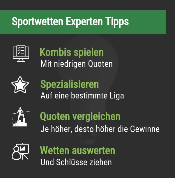 Sportwetten Experten Tipps