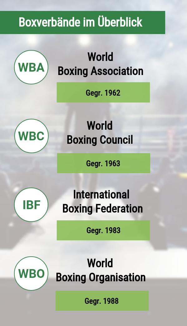 Boxverbände im Überblick