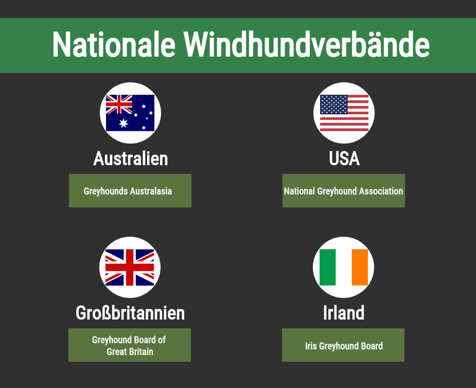 Nationale Windhundverbände