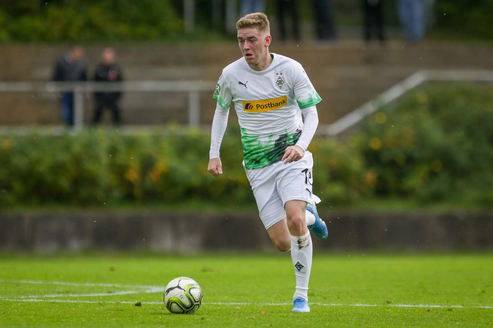 Andreas Poulsen von Borussia Mönchengladbach